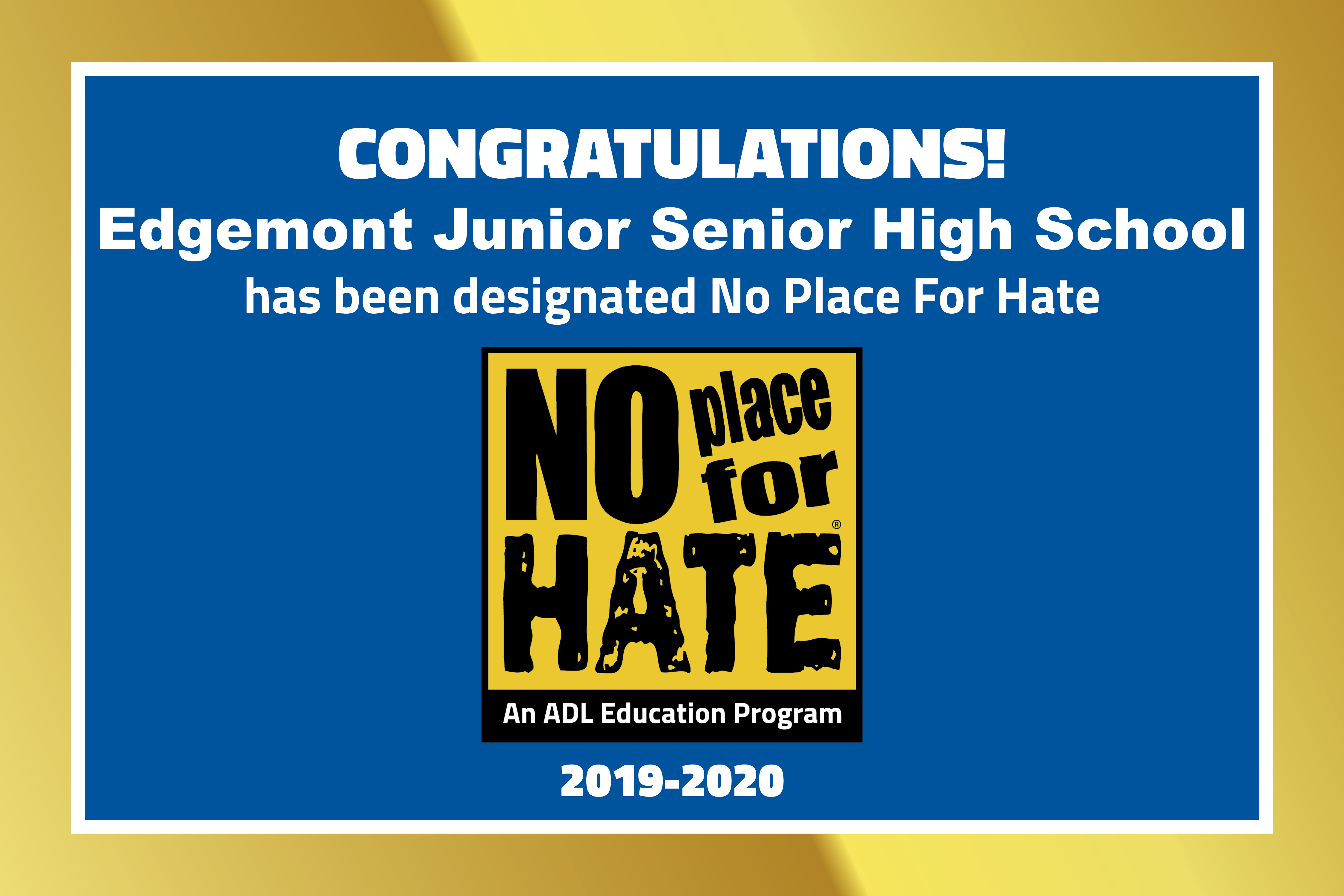 EHS - No Place For Hate